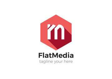 Flat Media logo