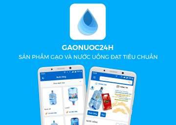 THIẾT KẾ APP CHO GAONUOC24H.COM