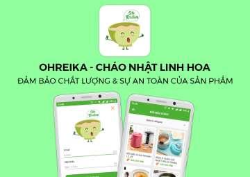 THIẾT KẾ ỨNG DỤNG ĐIỆN THOẠI CHO OHREIKA ( NHẬT LINH HOA)