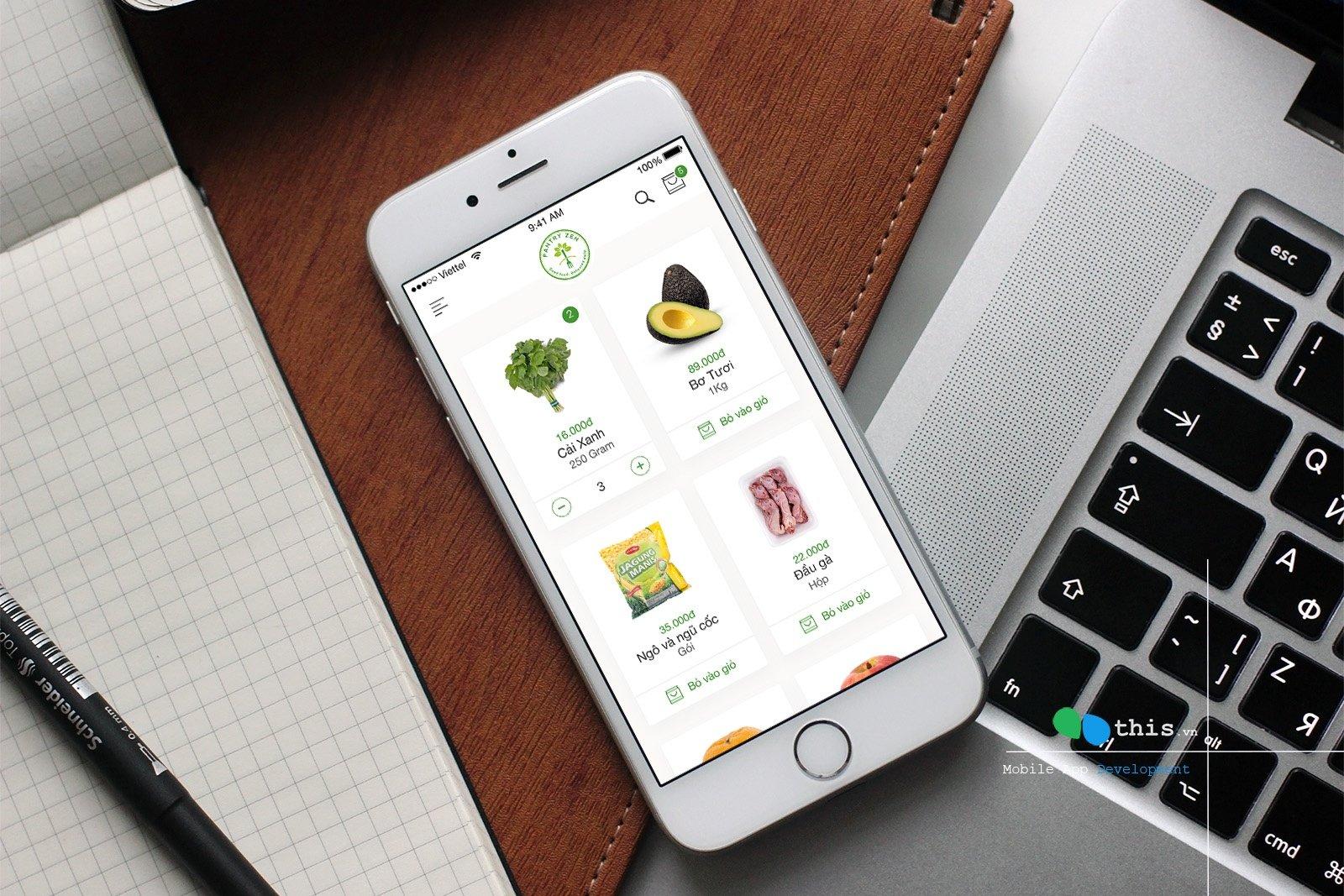Vai trò quan trọng của việc thiết kế app mobile đặt vé máy bay