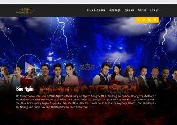 Thiết kế website hoangtramy.com cho Công ty TNHH Thương mại Dịch vụ Hoàng Trà My
