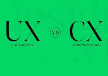 Phân biệt sự khác nhau giữa UX (user experience) và CX (customer experience)