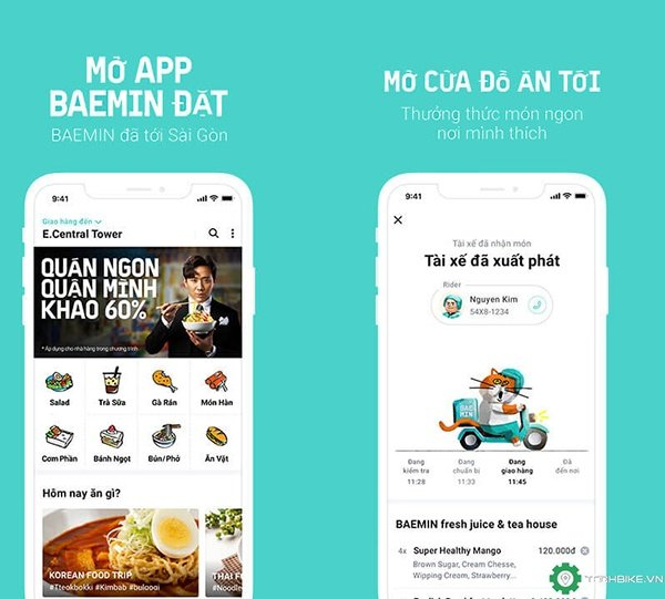 Tự học thiết kế app giao đồ ăn cho người mới bắt đầu