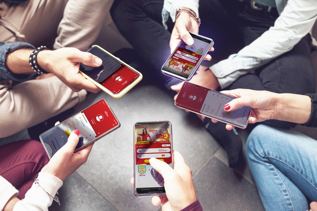 app tích điểm cho khách hàng
