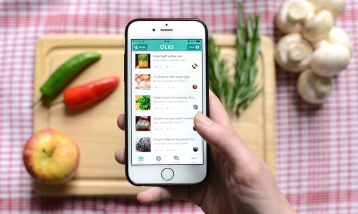 thiết kế app order đồ ăn
