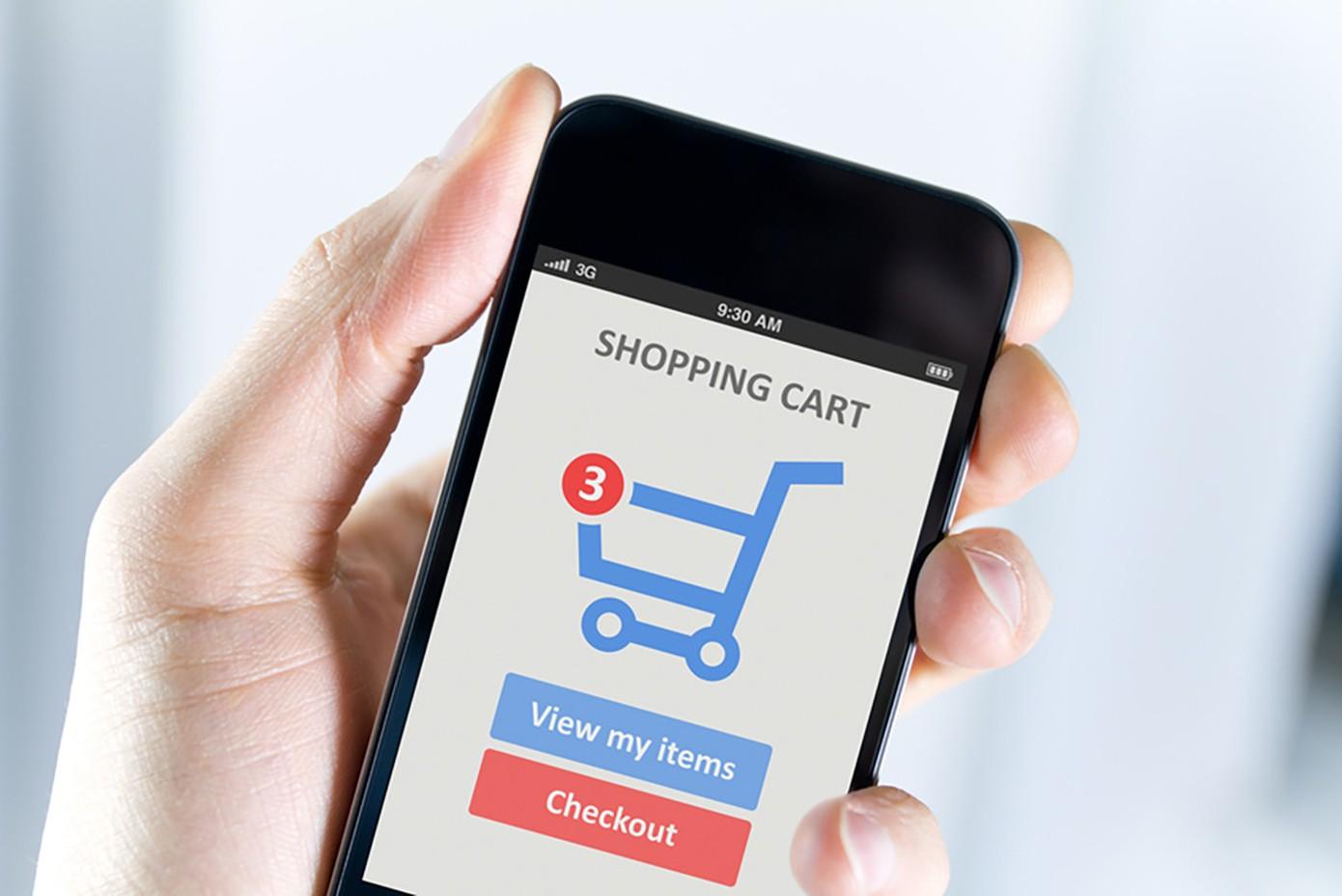 Viết app bán hàng online